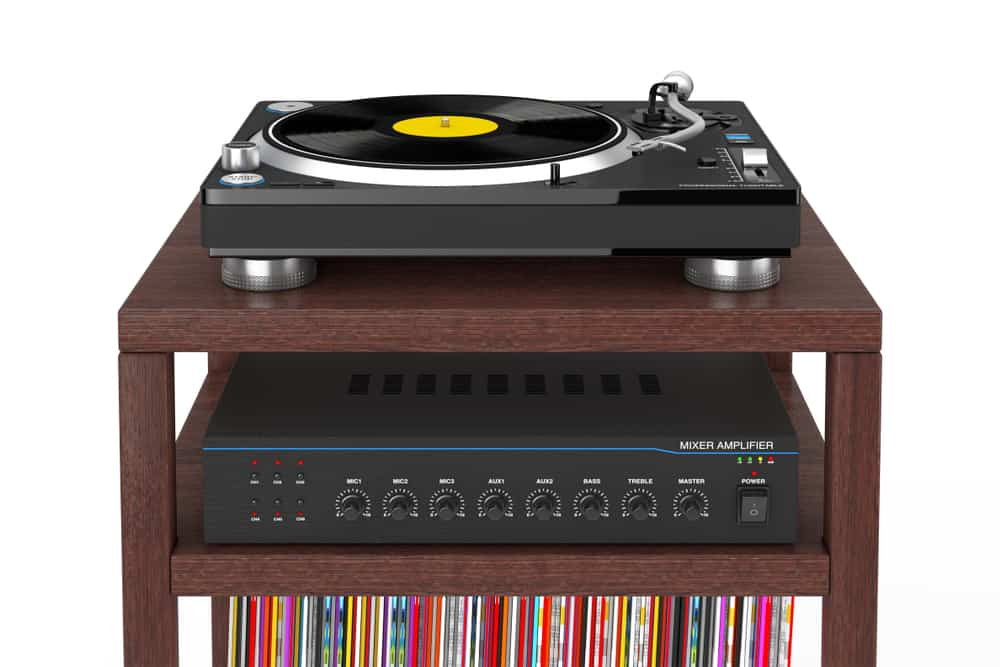 The Best Record Player Stand